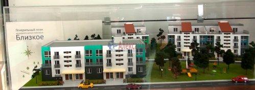 2-комнатная квартира (56м2) на продажу по адресу Мистолово дер., Центральная ул., 2— фото 1 из 14