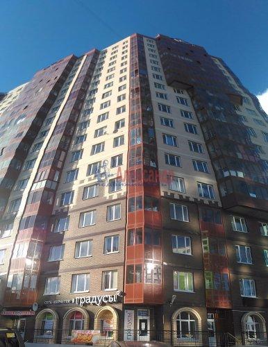 1-комнатная квартира (38м2) на продажу по адресу Мурино пос., Шоссе в Лаврики ул., 83— фото 2 из 14