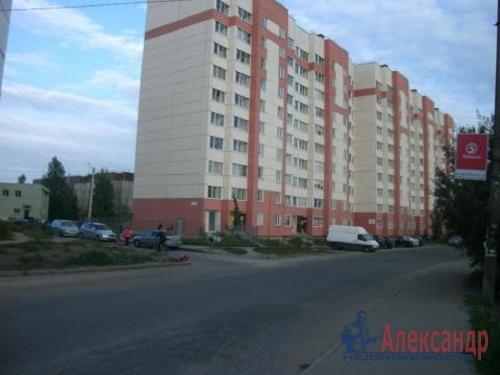 1-комнатная квартира (41м2) на продажу по адресу Коммунар г., Ижорская ул., 26— фото 1 из 1