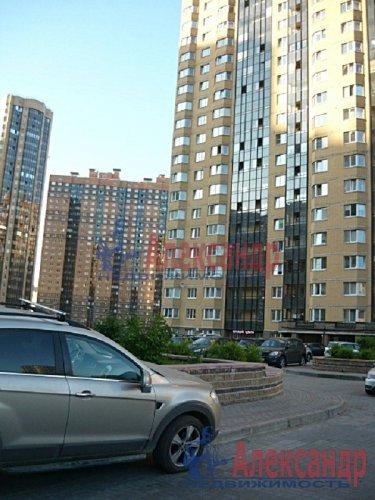 1-комнатная квартира (42м2) на продажу по адресу Парголово пос., Валерия Гаврилина ул., 3— фото 4 из 8