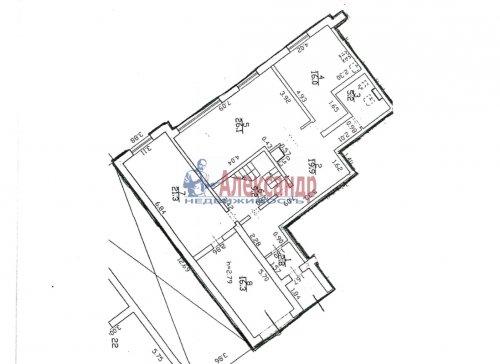 4-комнатная квартира (128м2) на продажу по адресу Пушкин г., Ленинградская ул., 46— фото 1 из 6