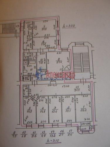 7-комнатная квартира (231м2) на продажу по адресу Звенигородская ул., 2/44— фото 12 из 12