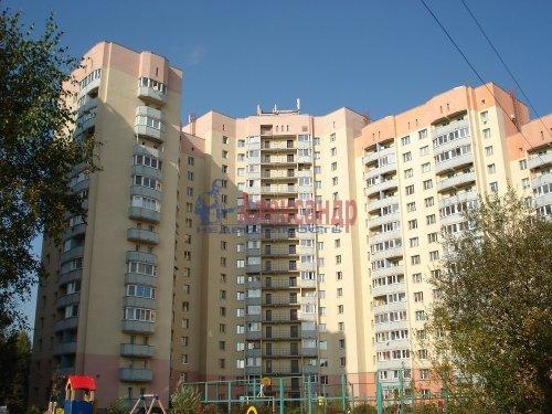 1-комнатная квартира (40м2) на продажу по адресу Мурино пос., Оборонная ул., 2— фото 1 из 18