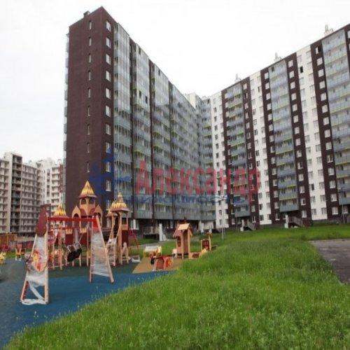 1-комнатная квартира (29м2) на продажу по адресу Кудрово дер., Немецкая ул., 3— фото 1 из 3