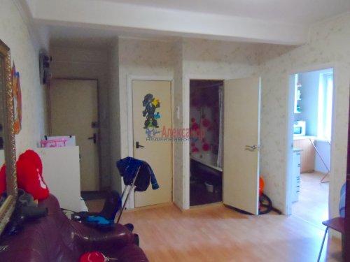 2-комнатная квартира (56м2) на продажу по адресу Всеволожск г., Героев ул., 9— фото 7 из 9