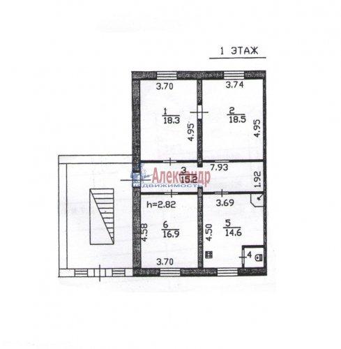 3-комнатная квартира (85м2) на продажу по адресу Гладкое пос., 13— фото 1 из 7