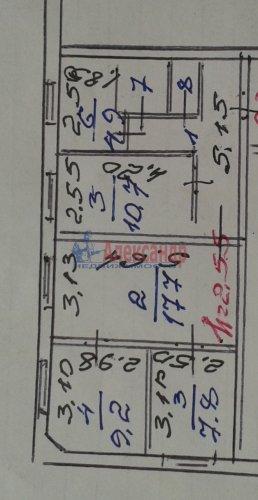 4-комнатная квартира (63м2) на продажу по адресу Гостилицы дер., Комсомольская ул., 5— фото 11 из 11