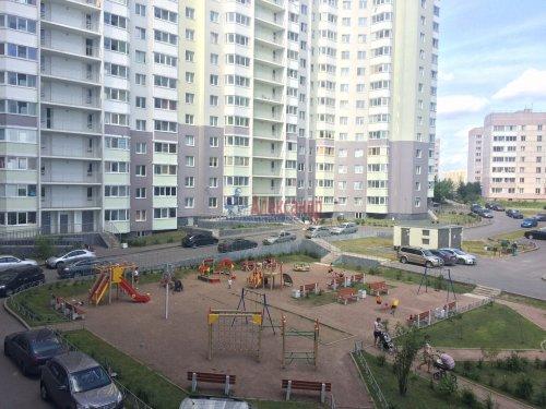 2-комнатная квартира (51м2) на продажу по адресу Бугры пос., Полевая ул., 16— фото 10 из 10