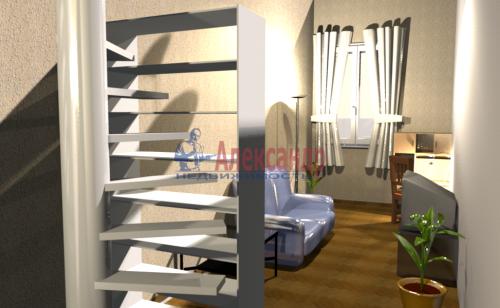 Комната в 3-комнатной квартире (68м2) на продажу по адресу Уральская ул., 15— фото 11 из 12
