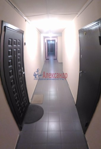1-комнатная квартира (32м2) на продажу по адресу Мурино пос., Боровая ул., 16— фото 4 из 16