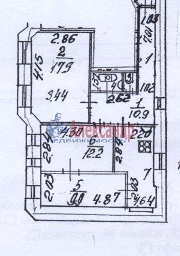 3-комнатная квартира (65м2) на продажу по адресу Мира ул., 24— фото 10 из 10