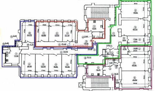 15-комнатная квартира (650м2) на продажу по адресу Восстания ул., 35— фото 5 из 11