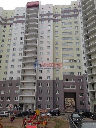 2-комнатная квартира (51м2) на продажу по адресу Бугры пос., Полевая ул., 16— фото 1 из 10