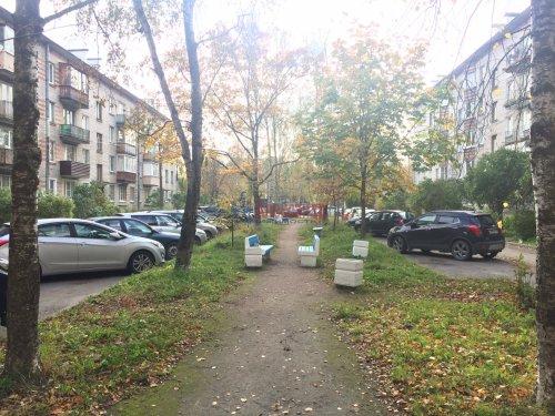 2-комнатная квартира (44м2) на продажу по адресу Петергоф г., Разведчиков бул., 14— фото 7 из 9