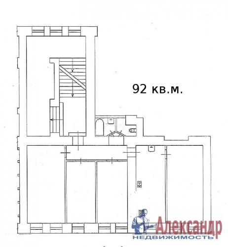 4-комнатная квартира (92м2) на продажу по адресу Садовая ул., 42— фото 2 из 3