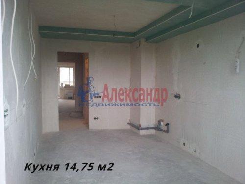 3-комнатная квартира (90м2) на продажу по адресу Всеволожск г., Колтушское шос., 44— фото 1 из 5