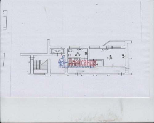 1-комнатная квартира (34м2) на продажу по адресу Сертолово г., Ларина ул., 8— фото 2 из 2