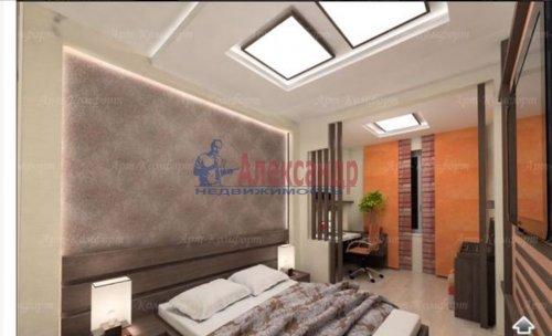 3-комнатная квартира (94м2) на продажу по адресу Луначарского пр., 11— фото 5 из 10
