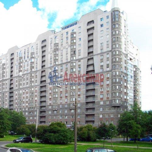 1-комнатная квартира (48м2) на продажу по адресу Поликарпова аллея, 2— фото 1 из 26