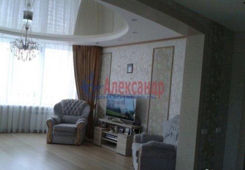 3-комнатная квартира (108м2) на продажу по адресу Луначарского пр., 11— фото 6 из 14