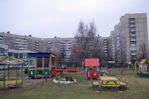 1-комнатная квартира (45м2) на продажу по адресу Долгоозерная ул., 4— фото 2 из 14