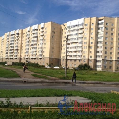 1-комнатная квартира (40м2) на продажу по адресу Большевиков пр., 30— фото 18 из 18