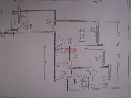 3-комнатная квартира (67м2) на продажу по адресу Искровский пр., 19— фото 1 из 15