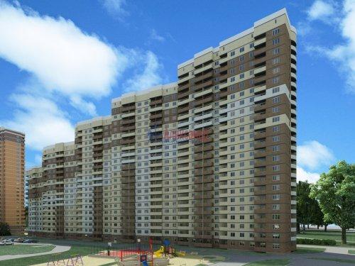 1-комнатная квартира (36м2) на продажу по адресу Маршала Блюхера пр.— фото 2 из 3