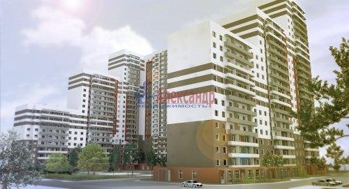 1-комнатная квартира (40м2) на продажу по адресу Парголово пос., Тихоокеанская ул., 27— фото 1 из 10