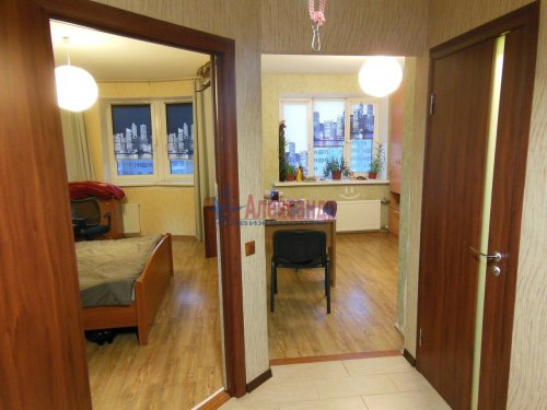 1-комнатная квартира (42м2) на продажу по адресу Парголово пос., Михаила Дудина ул., 25— фото 3 из 5