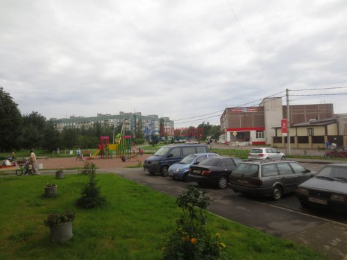 1-комнатная квартира (47м2) на продажу по адресу Синявино 1-е пгт., Кравченко ул., 11— фото 16 из 18