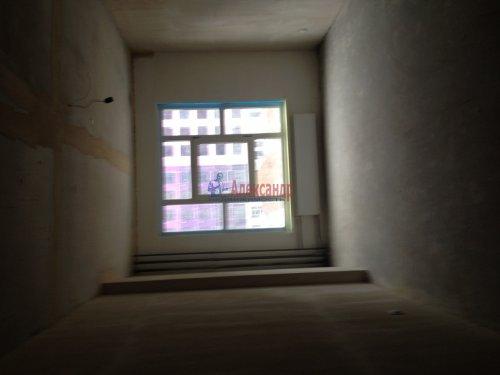 1-комнатная квартира (42м2) на продажу по адресу Мурино пос., 3— фото 2 из 3