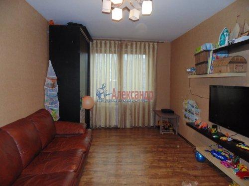 2-комнатная квартира (49м2) на продажу по адресу Сертолово г., Ветеранов ул., 3а— фото 1 из 13