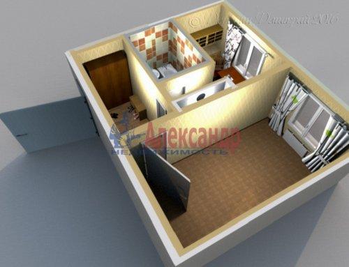 1-комнатная квартира (39м2) на продажу по адресу Ивановская ул., 29— фото 8 из 8