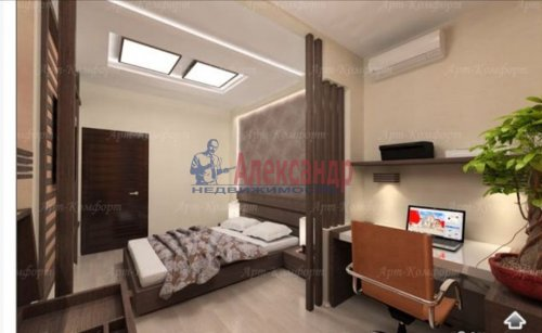 3-комнатная квартира (94м2) на продажу по адресу Луначарского пр., 11— фото 6 из 10