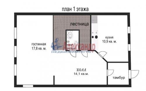 3-комнатная квартира (153м2) на продажу по адресу Сестрорецк г., Токарева ул., 6— фото 22 из 24
