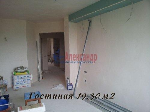 3-комнатная квартира (90м2) на продажу по адресу Всеволожск г., Колтушское шос., 44— фото 3 из 5