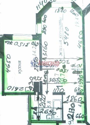 1-комнатная квартира (51м2) на продажу по адресу Савушкина ул., 143— фото 13 из 17