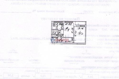 2-комнатная квартира (44м2) на продажу по адресу Просвещения пр., 24— фото 7 из 8