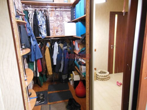 1-комнатная квартира (42м2) на продажу по адресу Парголово пос., Михаила Дудина ул., 25— фото 5 из 5