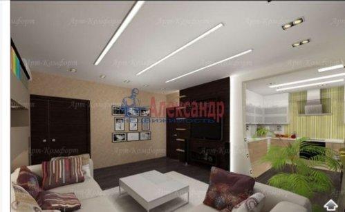 3-комнатная квартира (94м2) на продажу по адресу Луначарского пр., 11— фото 7 из 10