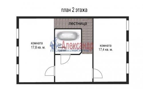 3-комнатная квартира (153м2) на продажу по адресу Сестрорецк г., Токарева ул., 6— фото 23 из 24