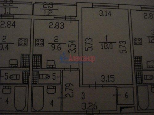 1-комнатная квартира (40м2) на продажу по адресу Вавиловых ул., 9— фото 11 из 20