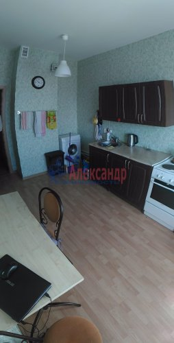 1-комнатная квартира (38м2) на продажу по адресу Мурино пос., Шоссе в Лаврики ул., 83— фото 13 из 14