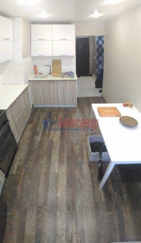 1-комнатная квартира (36м2) на продажу по адресу Мурино пос., Новая ул., 7— фото 14 из 18