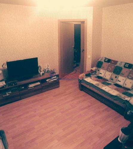 1-комнатная квартира (32м2) на продажу по адресу Мурино пос., Боровая ул., 16— фото 5 из 16