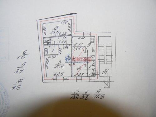 3-комнатная квартира (75м2) на продажу по адресу Малая Посадская ул., 16— фото 26 из 30
