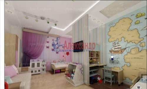 3-комнатная квартира (94м2) на продажу по адресу Луначарского пр., 11— фото 8 из 10
