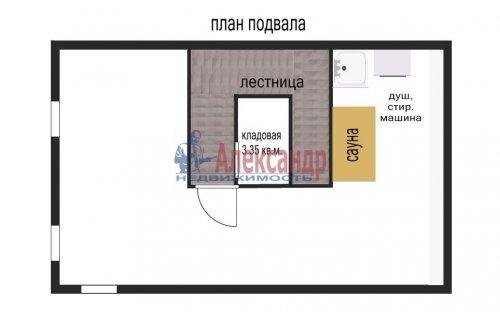3-комнатная квартира (153м2) на продажу по адресу Сестрорецк г., Токарева ул., 6— фото 24 из 24