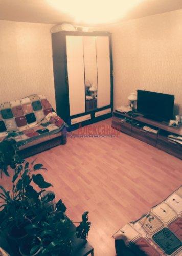 1-комнатная квартира (32м2) на продажу по адресу Мурино пос., Боровая ул., 16— фото 7 из 16